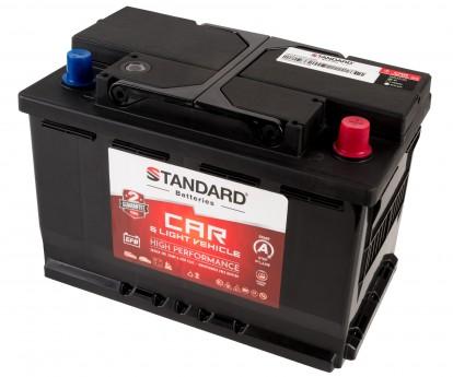 Μπαταρία αυτοκινήτου STANDARD EFB Start&Stop EFB70L3CAR 12V 70Ah 720CCA(SAE)