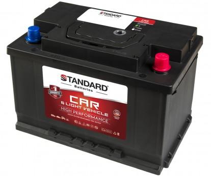 Μπαταρία αυτοκινήτου STANDARD High Performance SMF57520CAR 12V 75Ah 680CCA(SAE)