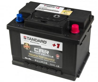 Μπαταρία αυτοκινήτου STANDARD+1 Premium Performance SMF56320CARPR 12V 63Ah 600CCA(SAE)