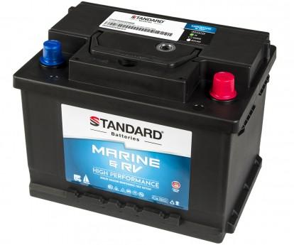Μπαταρία για σκάφος & τροχόσπιτο & RV STANDARD SMF56077MRV 12V 60Ah 540CCA(SAE)