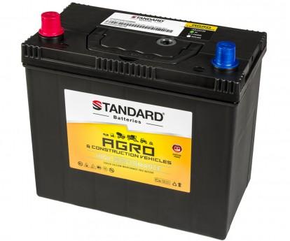 Μπαταρία αγροτικού & δομικού οχήματος και μηχανήματος STANDARD SMF54551AGRO 12V 45Ah 430CCA(SAE)