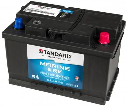 Μπαταρία για σκάφος & τροχόσπιτο & RV STANDARD SMF57513MRV 12V 75Ah 630CCA(SAE)