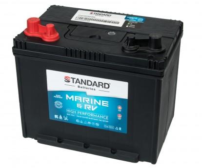 Μπαταρία για σκάφος & τροχόσπιτο & RV διπλής χρήσης STANDARD SMF24MS680MRVDP 12V 80Ah 540CCA(SAE)