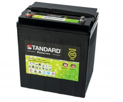 Μπαταρία STANDARD RECHARGE βαθείας εκφόρτισης VRLA AGM082000 8V 200.0Ah(C20) 180.0Ah(C10) 165Ah(C5)