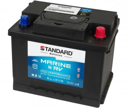Μπαταρία για σκάφος & τροχόσπιτο & RV διπλής χρήσης STANDARD SMF56319MRVDP 12V 63Ah 640CCA(SAE)