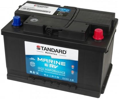 Μπαταρία για σκάφος & τροχόσπιτο & RV διπλής χρήσης STANDARD SMF57813MRVDP 12V 78Ah 700CCA(SAE)