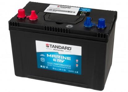 Μπαταρία για σκάφος & τροχόσπιτο & RV διπλής χρήσης STANDARD SMF27MS780MRVDP 12V 100Ah 630CCA(SAE)
