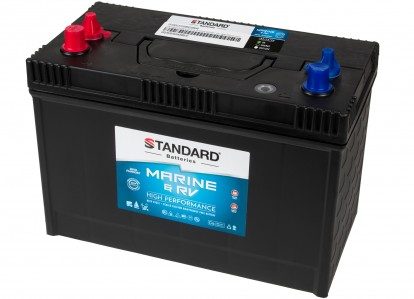 Μπαταρία για σκάφος & τροχόσπιτο & RV διπλής χρήσης STANDARD SMF31MS850MRVDP 12V 110Ah 690CCA(SAE)