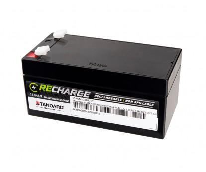 Μπαταρία STANDARD RECHARGE βαθείας εκφόρτισης VRLA AGM120032 12V 3.2C20/2.98C10/2.69C5 AH
