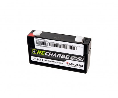 Μπαταρία STANDARD RECHARGE βαθείας εκφόρτισης VRLA AGM060012 6V 1.2C20/1.12C10/1.01C5 AH