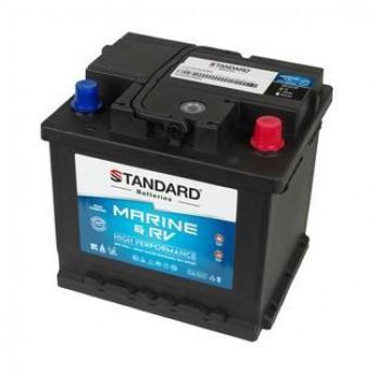 Μπαταρία για σκάφος & τροχόσπιτο & RV διπλής χρήσης STANDARD MDC55216 12V 52Ah 480CCA(EN)