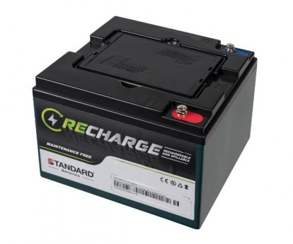 Μπαταρία STANDARD RECHARGE βαθείας εκφόρτισης VRLA AGMGEL12035B 12V 35.0C20/32.4C10/31.7C5AH