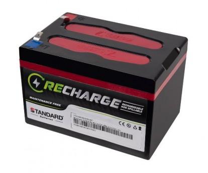 Μπαταρία STANDARD RECHARGE βαθείας εκφόρτισης VRLA AGM/GEL 12V 15.0C20/14.3C10/13.7C5 AH