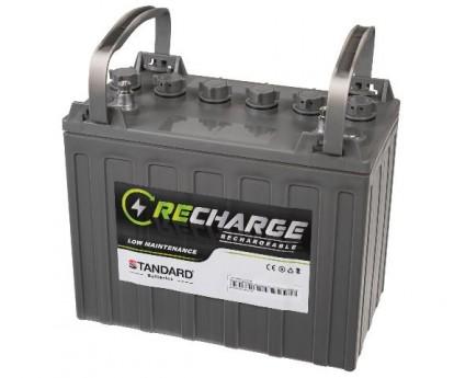 Μπαταρία STANDARD RECHARGE βαθείας εκφόρτισης υγρού τύπου 12V 150C20/138C10/128C5 AH