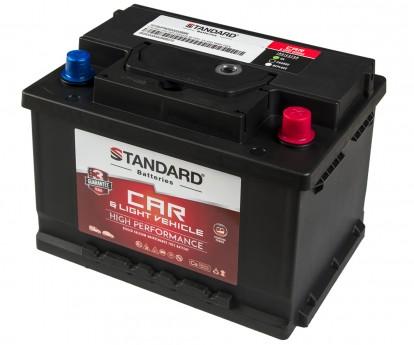 Μπαταρία αυτοκινήτου STANDARD High Performance SMF56077CAR 12V 60Ah 540CCA(SAE)