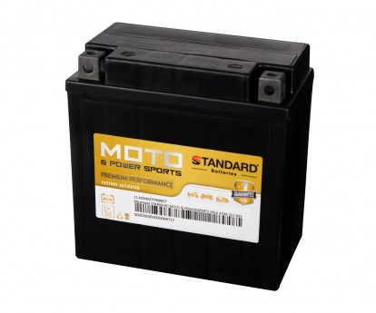 Μπαταρία STANDARD MOTO & POWERSPORTS VRLA AGMMFYB9B 12V 9Ah 120A(CCA)