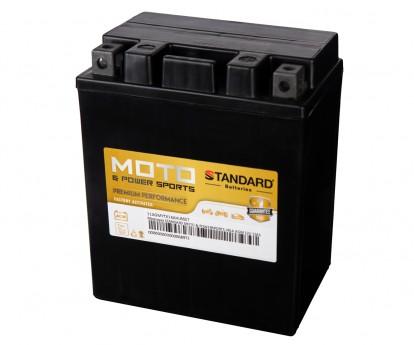 Μπαταρία STANDARD MOTO & POWERSPORTS VRLA AGMYTX14AHLBS 12V 12Ah 210A(CCA)