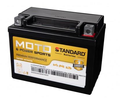 Μπαταρία STANDARD MOTO & POWERSPORTS VRLA AGMMFYB4LB 12V 4Ah 60A(CCA)