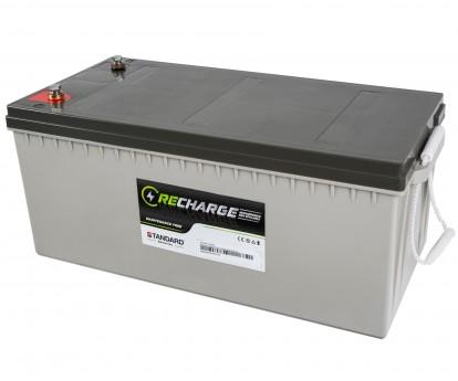 Μπαταρία STANDARD RECHARGE βαθείας εκφόρτισης VRLA AGM122000 12V 208.0C20/200.0C10/172.0C5 AH