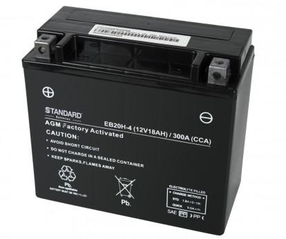 Μπαταρία STANDARD MOTO & POWERSPORTS VRLA AGMYTX20HBS 12V 18Ah 310A(CCA)
