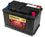 Μπαταρία αυτοκινήτου STANDARD AGM Start&Stop Plus AGM72L3CARPR 12V 72Ah 760CCA(SAE)