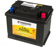 Μπαταρία αγροτικού & δομικού οχήματος και μηχανήματος STANDARD SMF56019AGRO 12V 60Ah 580CCA(SAE)
