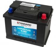 Μπαταρία για σκάφος & τροχόσπιτο & RV διπλής χρήσης STANDARD SMF56320MRVDP 12V 63Ah 600CCA(SAE)