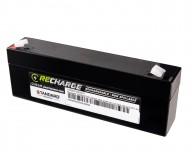 Μπαταρία STANDARD RECHARGE βαθείας εκφόρτισης VRLA AGM120023 12V 2.3C20/2.14C10/1.93C5 AH