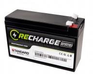 Μπαταρία STANDARD RECHARGE βαθείας εκφόρτισης VRLA AGM 12V 5.0C20/4.65C10/4.2C5 AH
