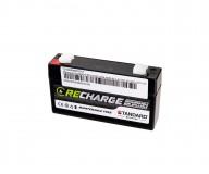 Μπαταρία STANDARD RECHARGE βαθείας εκφόρτισης VRLA AGM 6V 1.2C20/1.12C10/1.01C5 AH