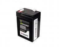 Μπαταρία STANDARD RECHARGE βαθείας εκφόρτισης VRLA AGM060045 6V 4.5C20/4.19C10/3.78C5 AH