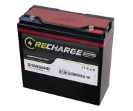Μπαταρία STANDARD RECHARGE βαθείας εκφόρτισης VRLA AGM/GEL 12V 27.0C20/25.0C10/23.5C5 AH