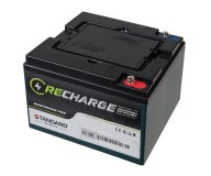 Μπαταρία STANDARD RECHARGE βαθείας εκφόρτισης VRLA AGM/GEL 12V 35.0C20/32.4C10/31.7C5AH
