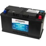 Μπαταρία για σκάφος & τροχόσπιτο & RV διπλής χρήσης STANDARD MDC60038 12V 100Ah 900CCA(EN)