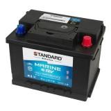 Μπαταρία για σκάφος & τροχόσπιτο & RV διπλής χρήσης STANDARD MDC56320 12V 63Ah 620CCA(EN)