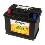 Μπαταρία αγροτικού & δομικού οχήματος και μηχανήματος STANDARD AGRO55565 12V 55Ah 440CCA