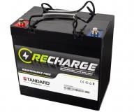 Μπαταρία STANDARD RECHARGE βαθείας εκφόρτισης VRLA AGMGEL12060B 12V 58.0C20/51.0C10/48.0C5 AH