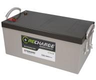 Μπαταρία STANDARD RECHARGE βαθείας εκφόρτισης VRLA AGM122500 12V 260.0C20/250.0C10/215.0C5 AH